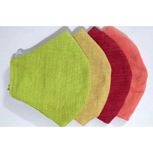 Plain Masks - Reusable, Washable Cloth Masks Pack Of 4