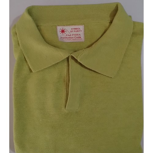 Parrot Green Full sleeves Polo T-shirt