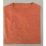 Peach - Orange Textured Tshirt