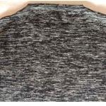 Black Textured Full Sleeves T-Shirt