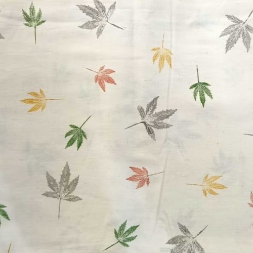 Leaf Print with Dharvi Based