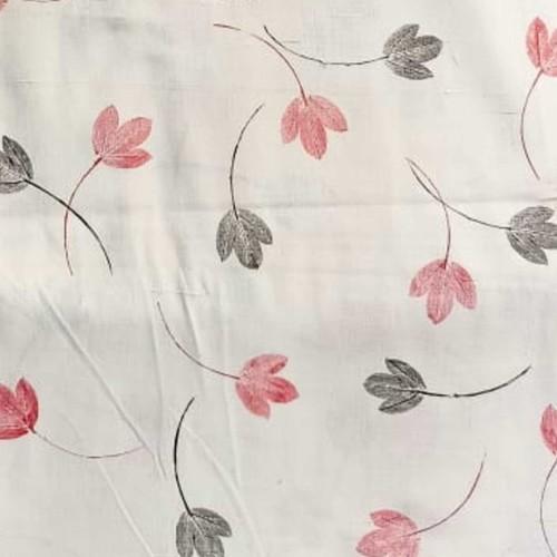 Leaf Print white background