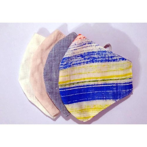 Breathable Masks - Reusable, Washable Cloth Masks Pack Of 4