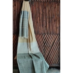 Yellow - Grey Woven Stole