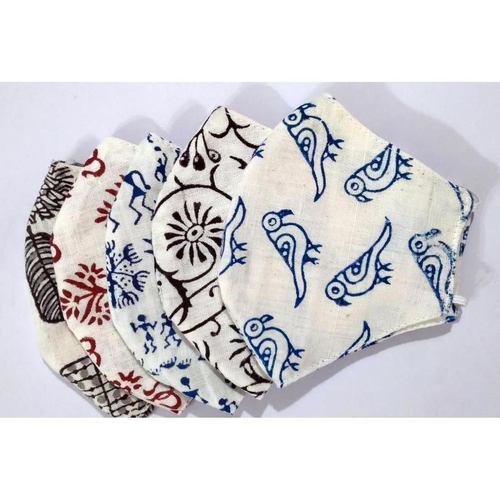 Blocky Masks - Reusable, Washable Cloth Masks Pack Of 5