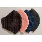 Mis-Match Masks - Reusable, Washable Khadi Masks (Pack Of 4)