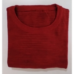 Textured Red T-shirt