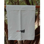 Lil Elephant Embroidered Towel