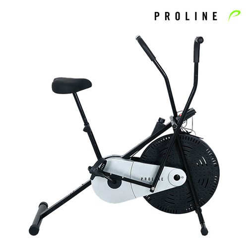 Proline Fitness AB1 Air Bike Exercise Cycle With  Adjustable Cushioned Seat