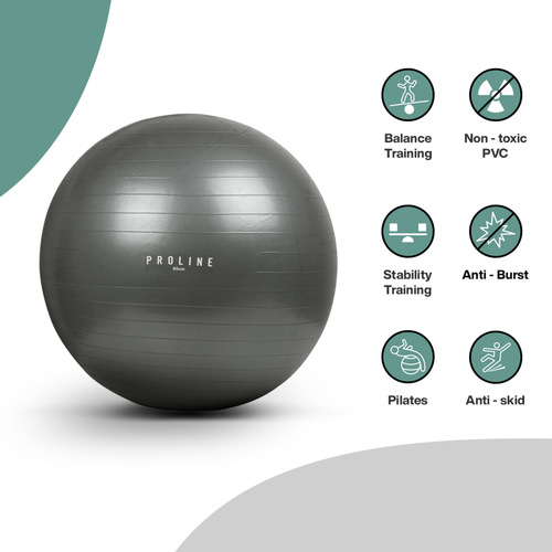 PROLINE ANTIBURST GYM BALL - 75cm