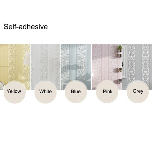 Non-woven Fabric Wallpaper Rolls with Free Gifts