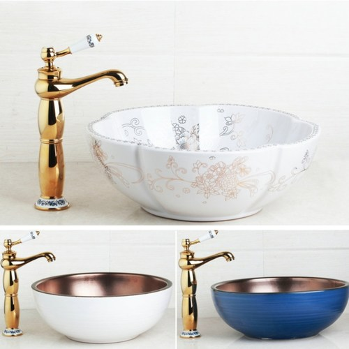 Inspired-Modern Art Ceramic Bowl Sink