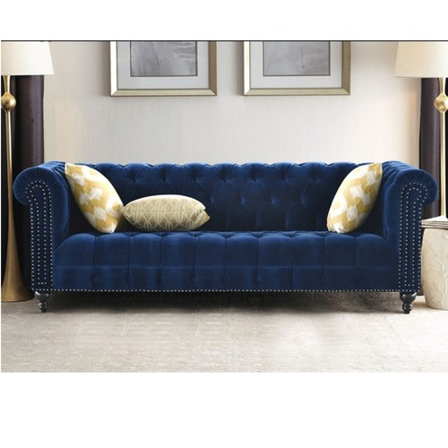 Luxury European 3 Seater Fabric Sofa