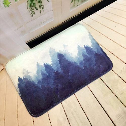 Tree&Leave Doormat Carpet Anti Slip Floor Mat
