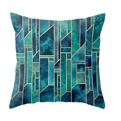 Abstract Geometric Cushion Cover