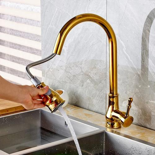 360 Rotate Sprayer Kitchen Mixer Tap