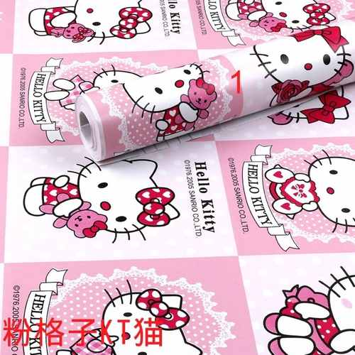 Hello Kitty Girls Wallpaper Rolls with FREE Gifts