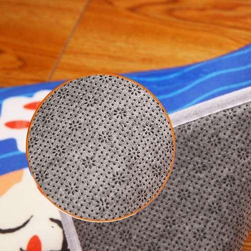 Colourful Words Pattern Carpet Living Room/Bedroom Mat
