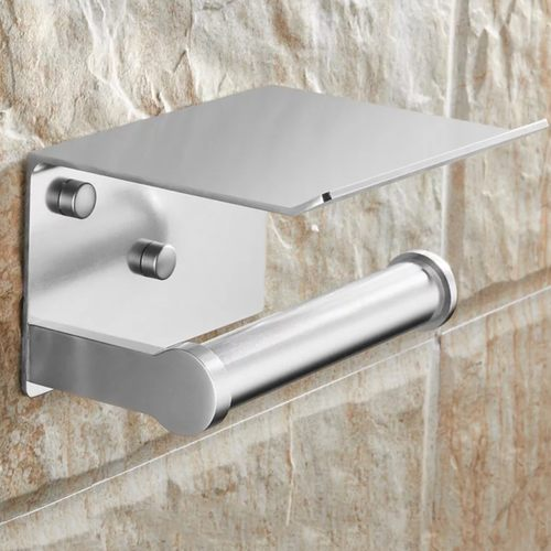Wall Mounted Paper Towel holder Rack in Gold/Silver/Black
