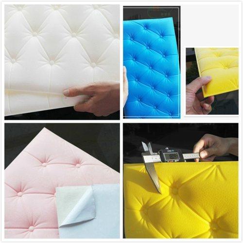 3D Soft Cushion PE Foam Wallpaper Backdrops