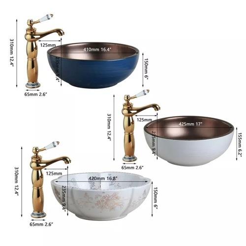 Inspired-Modern Art Ceramic Bowl Sink