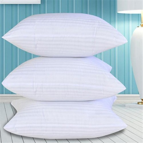 Squarish Solid Polyester Cotton Pillow Insert