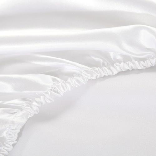 Fitted Satin Bedsheet Queen/King Size Mattress