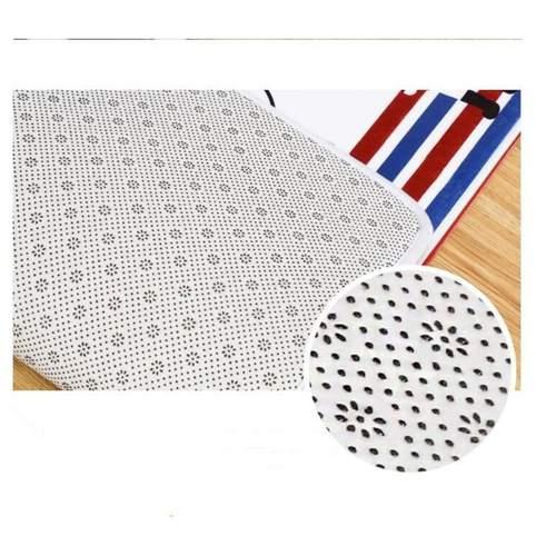 2pcs/set Leaf Printed Design Kitchen Mat