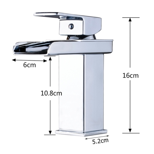 Contemporary Waterfall Countertop Tap