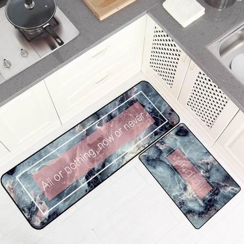 2pcs/set Nordic Ins Floor Mat