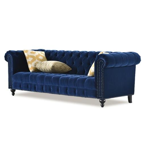 Luxury European 3 Seater Fabric Sofa