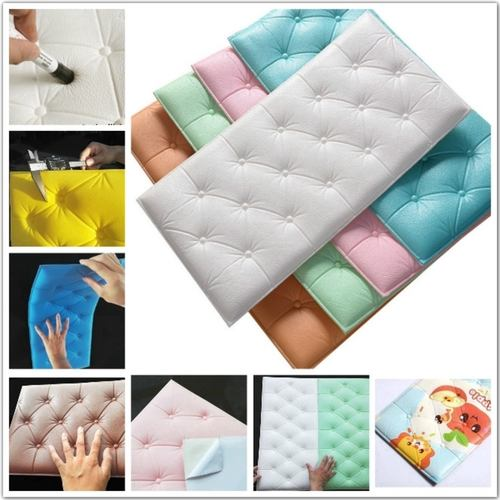 3D Soft Cushion PE Foam Wallpaper Backdrops