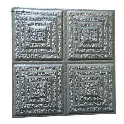 3D Geometric Wallpaper Foam