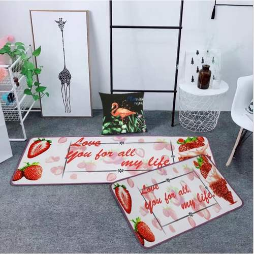 2pcs/set Various Pattern of Kitchen Mat/Doormat