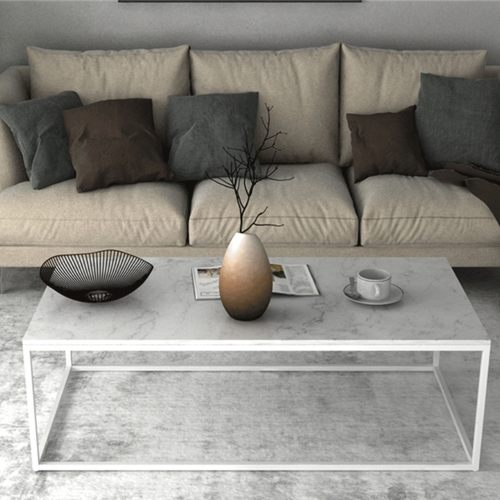 Nordic Ins Marble Rectangle Coffee Table
