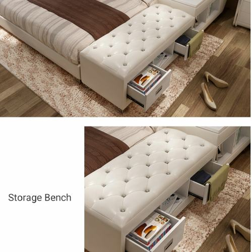 Karli Convertible Bedframe with Tatami & Storage Compartment