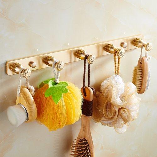 European Gold Luxury Bathroom Set C