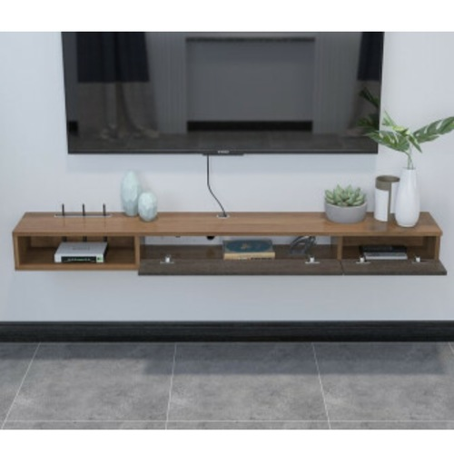 NINA Wall Mounted Wood TV Console