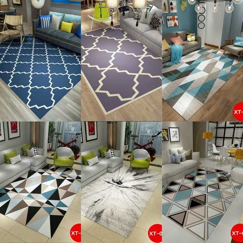 Designer Modern Printed Big Size Carpet