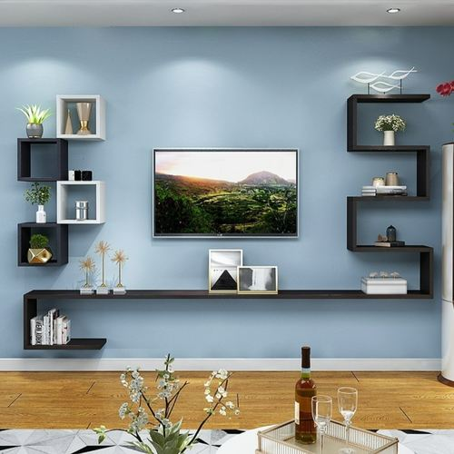 Eastwood Creative Wall Moutned TV Cabinet-Set E