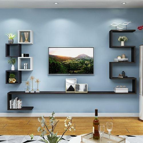 Eastwood Creative Wall Moutned TV Cabinet-Set E