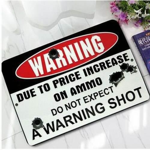 WARNING Quotes/Wording Doormat