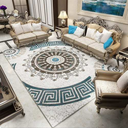 5 Designer Flowerish Pattern Design Carpet