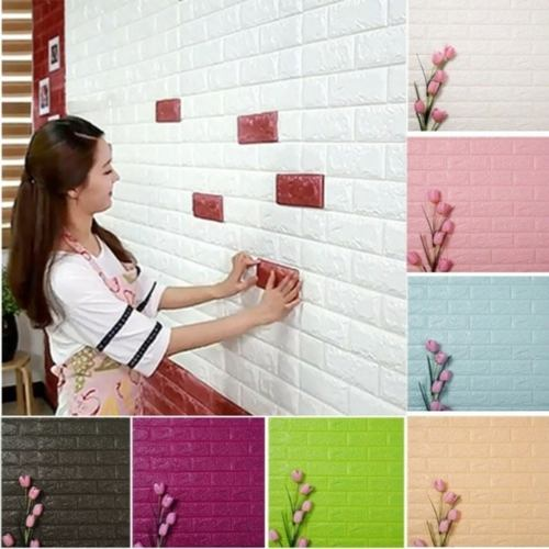 Brick Stone 3D wallpaper foam