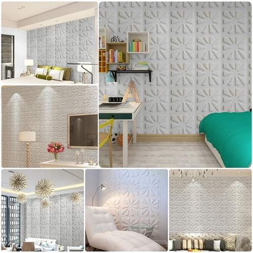 3D Modern Printed Wallpaper Foam