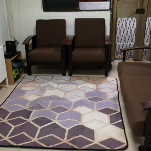 Modern Geometric Carpet