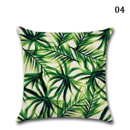 Forest Tree,Leaf Cushion Cover, Pillowcase