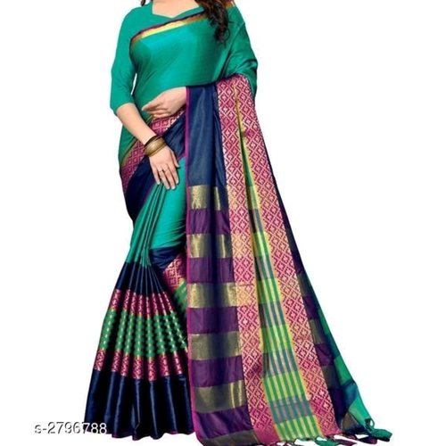 Tanya Adorable Cotton Silk Women's Sarees Vol 11