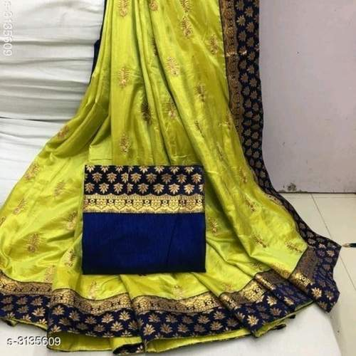 Tanya Gorgeous Two Tone  Silk Sarees Vol 1