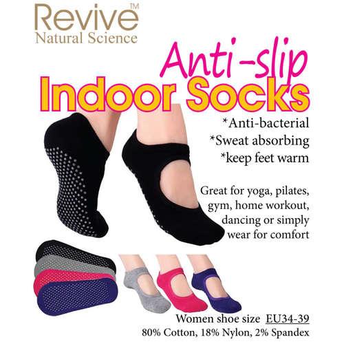 Anti-Slip Indoor Socks